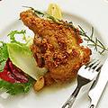 料理メニュー写真チキンのオーブン焼き小悪魔風