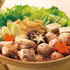 料理メニュー写真鶏ちゃんこ鍋