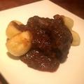 料理メニュー写真宗谷産 えぞ鹿すね肉のイタリア家庭風赤ワイン煮込み
