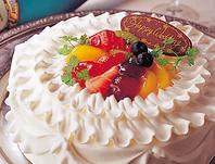 誕生日・記念日に♪ケーキの持ち込みOK!
