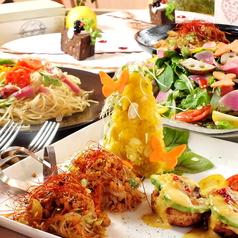パプリカ食堂 Vegan ヴィーガンのコース写真