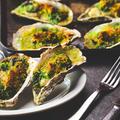 料理メニュー写真兵庫県室津産 牡蠣の香草バター焼き (1Piece)