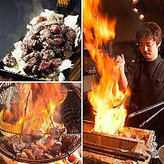 宮崎名物鶏もも黒炭火焼き