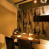 足を伸ばせる広々とした快適空間でお食事を。当店自慢の逸品料理をご堪能下さいませ!