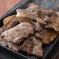 料理メニュー写真3元豚バラ焼き
