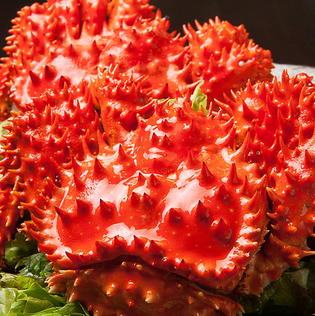 タラバ・ズワイ・毛蟹・・・仕入れにより花咲ガニなどもご用意!