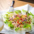 料理メニュー写真3種鮮魚のカルパッチョ