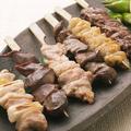 料理メニュー写真阿波尾鶏 串焼き盛り合わせ (7本)