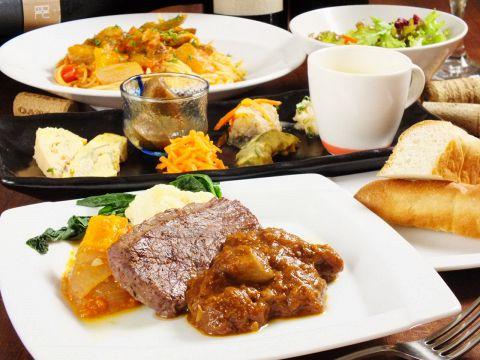 ◆ディナーセット◆3300円(税込)〜