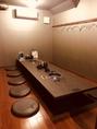 会個室席は6名様以上~最大24名までOK!!社宴会やちょっとした打ち上げにも使いやすい掘りごたつ個室です。