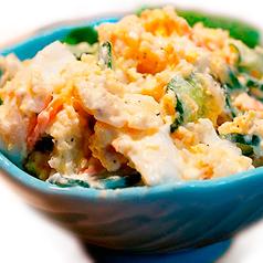 料理メニュー写真とりあえずの手作りポテトサラダ