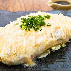 白いとん平チーズ焼き/納豆チーズ葱まみれ