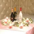 結婚式2次会パーティにもご利用できます