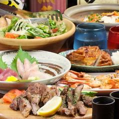 肉バル シーフードバンク Gochi 神田店のコース写真