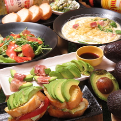 DIYcafe 難波アメ村店のコース写真