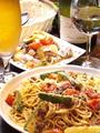 料理メニュー写真季節のおすすめスパゲティ