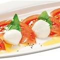 料理メニュー写真北海道産モッツァレラチーズのカプレーゼ