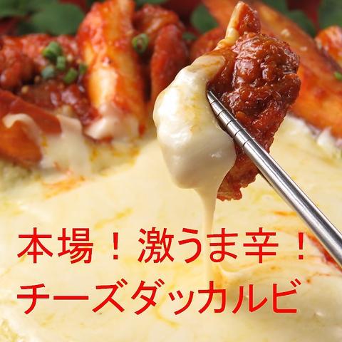 ◆リピート率90%ハンサラン◆リニューアル記念◆本場チーズダッカルビ!50%オフ!