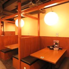 【なんば駅徒歩1分★大阪名物が人気の居酒屋「いっとく難波千日前店」のお席のご紹介】仕切りのついたBOX席♪20名様~貸切も承ります!最大50名様まで◎お気軽にお問い合わせ下さい♪串カツ食べ放題もございます♪