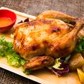 料理メニュー写真ひな鶏のロティサリーチキン ソルト&ガーリック[ホール]