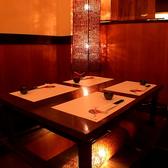 足が疲れない掘りごたつ席はアットホームな空間で時間を忘れてお酒やお食事を愉しめます!