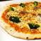 アンチョビとブロッコリーのピッツァ