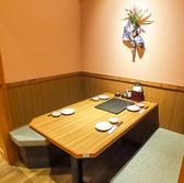 座敷だけでなく、テーブル席もございます。はなの舞 新鎌ヶ谷店