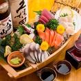 築地直送の新鮮な鮮魚を贅沢に使用しております。季節ごとに選び抜かれた旬の鮮魚は絶品★