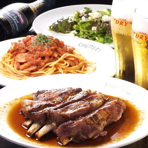 ビアガーデンプランあり◎開放感のあるテラス席で飲むビールは格別の味わい!