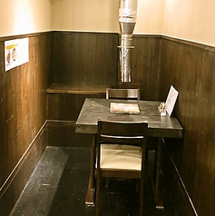 2名様でご利用頂ける半個室のような独立席♪是非デートでご利用下さい(*^^)v