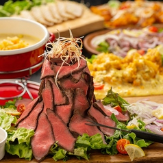 個室×チーズ MEAT&RICH すすきのバルの写真