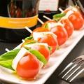 料理メニュー写真トマトとチーズ風塩豆腐の特製カプレーゼ