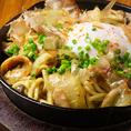 カレー鍋の〆!焼きラーメン
