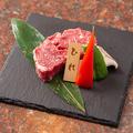 料理メニュー写真厚切りヒレステーキ(100g)