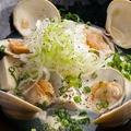 料理メニュー写真白ハマグリとお豆腐の塩煮