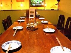 1F奥のテーブル席です♪プライベートはもちろん、ご家族でのご利用に◎