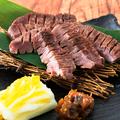 料理メニュー写真仙台風 厚切り牛タンの炙り焼き