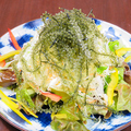 料理メニュー写真海ぶどうサラダ