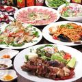 料理メニュー写真【種類∞飲放付】カリビアンシーフード&BBQのパーティーコース全7品2H3500円