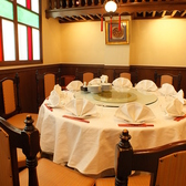2階の宴会用10名個室!中国風情満点の空間