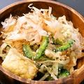 料理メニュー写真大豆肉のゴーヤチャンプル