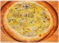 料理メニュー写真駿河湾釜揚げしらすのピザ