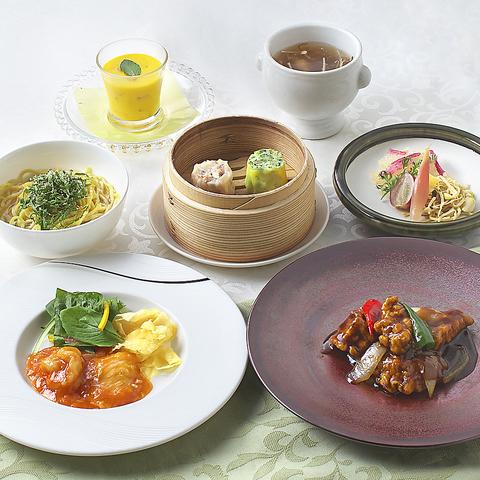 クリオネ会員様限定特典付きランチ会食ビジネスカジュアルコース3000円個別盛4名様から個室可