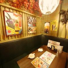 プライベートな個室空間でゆっくりお食事をお楽しみください。ファミリーでのご来店も大歓迎♪