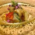 料理メニュー写真煮穴子、加賀太胡瓜酢の物