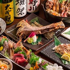 和食と個室 うお撰 恵比寿店のコース写真
