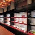 西日本最多展示数を誇る、和ガラス美術館併設。