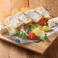 料理メニュー写真4種のチーズの盛り合わせプレート