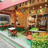 【開放的なオープンテラス】カフェ・ランチはもちろん、ビアガーデン風に世界のビールを飲みながらのディナーも最高です!!  ≪飲み放題/ランチ/歓送迎会/貸切≫