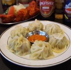 料理メニュー写真ネパールモモ